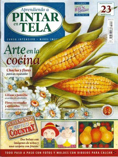 aprendiendo a pintar en tela No.23 2005 - Antonella Stivanello - Picasa Web Albums...