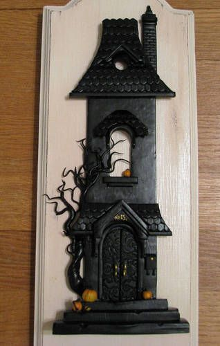 It's finished! (I think) [Haunted House] - POTTERY, CERAMICS, POLYMER CLAY