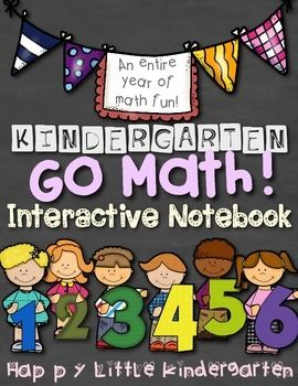 Go Math! Kindergarten Interactive Math Notebook - Interact