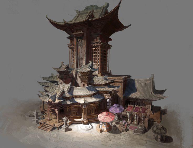 ArtStation - Architecture practice, Pei Gong