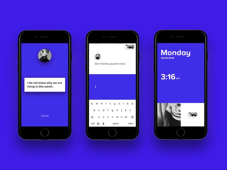 messager app concept by Wen Tong