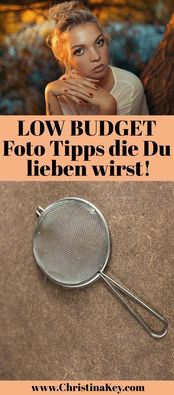 Fotografie Tipps: Geniale Low Budget Foto Tipps die Du lieben wirst! / In diesem Artikel zeige ich Dir was Du mit Teesieb, Mülltüte, Vaseline & Co. alles so anstellen kannst! Du wirst verblüfft sein!  (Fitness Inspiration Photos)