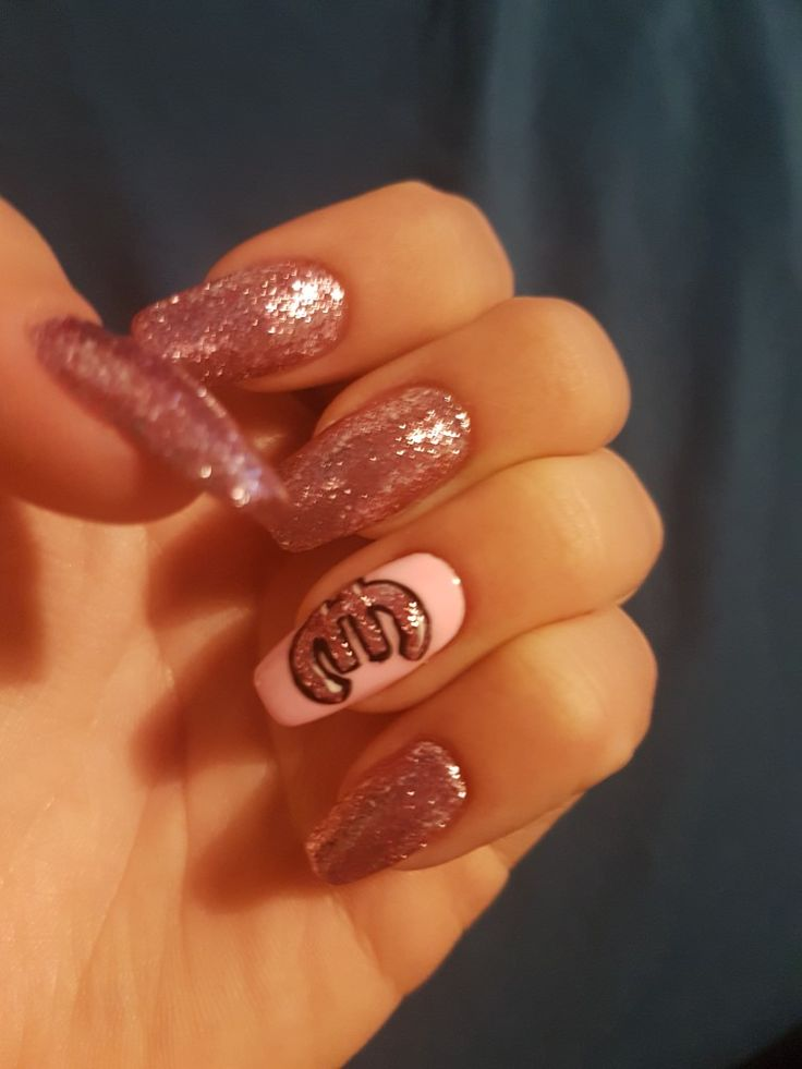 Lovely long gel nails € #nails #shiny #euro #pink #lovely #gel