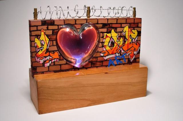 Neon Graffiti sculpture - Chelsie Thomas