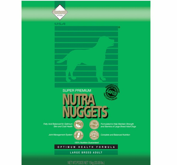 Puppy Diamond Dog Food >> nutra nuggets dog food review | Foodfash.co
