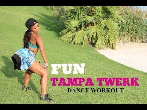 Tampa Twerk Dance Workout with Keaira LaShae - YouTube