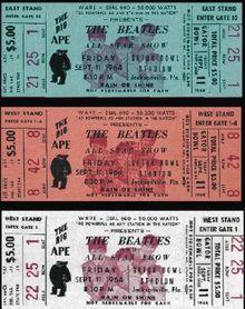 My first ever concert - yea yea yea!!! The Beatles Jax - Gator Bowl Stadium - Wikipedia, the free encyclopedia