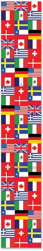 Jed International Flag Pull-Down Cutout - 12 Units