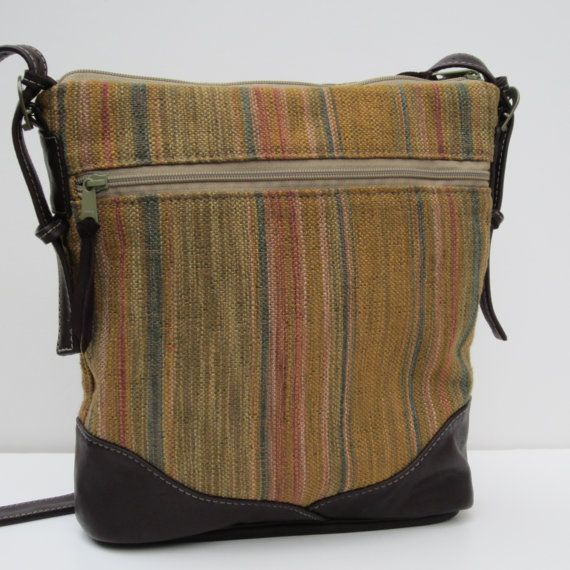 LEATHER and Fabric Shoulder BAG-Satchel-Purse by by Bizmo on Etsy