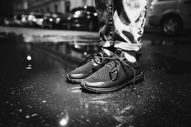 The streets of the city full of dark hefty fog with raindrops falling from the apocalyptic clouds cutting through it once upon a time!    #footshop #adidas