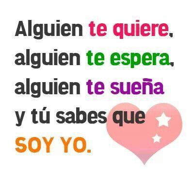 te quiero y te sueño ♥
