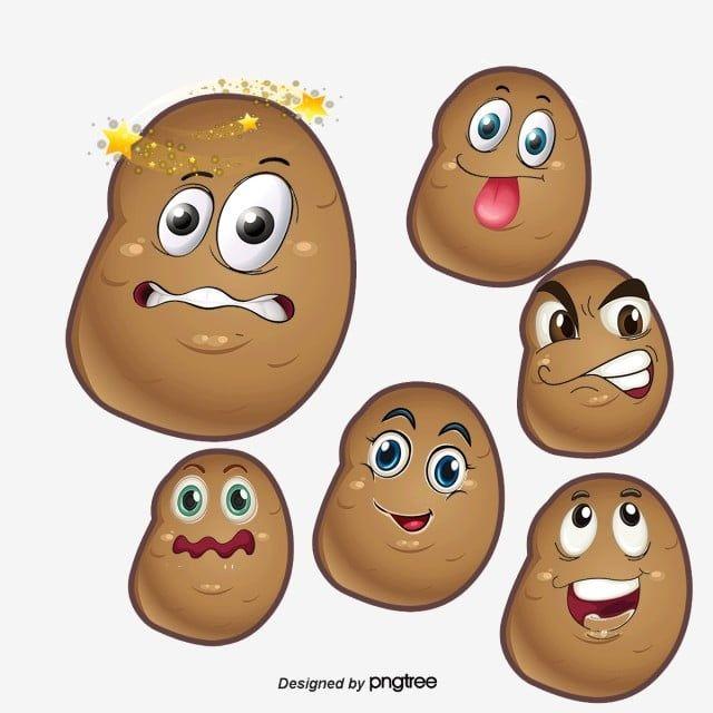 Pin By Indah On Squishie Cute Potato Cartoon Images Cartoon