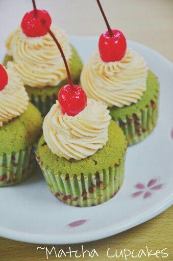 #matcha #cupcake