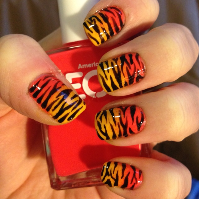 Tiger stripes!