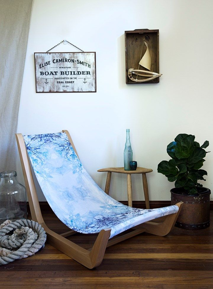 Smooth Sailing WOODWORK ARTIST ELISE CAMERON-SMITH CRAFTS BEAUTIFUL BOATS AND OBJECTS USING TRADITIONAL SKILLS | Home Beautiful Magazine Australia