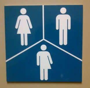 Bathroom Sign Language Symbol best 10+ gender neutral bathroom signs ideas on pinterest | gender