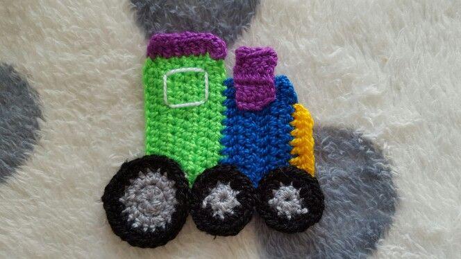 Locomotora a crochet
