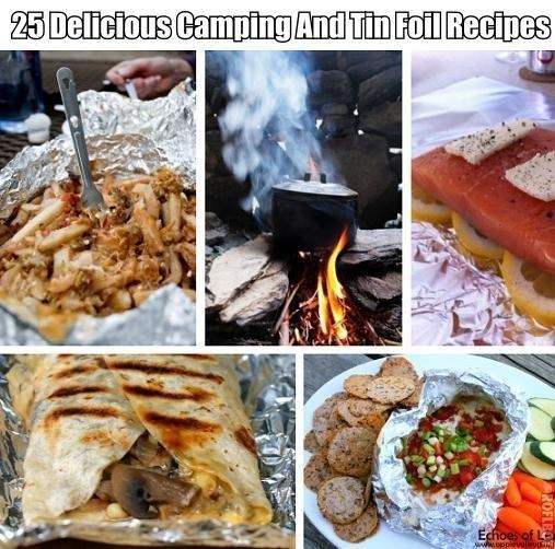 25 Delicious Camping And Tin Foil Recipes