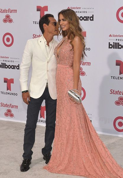 Marc Anthony and Shannon de Lima  2015 Billboard Latin Music Awards - Arrivals