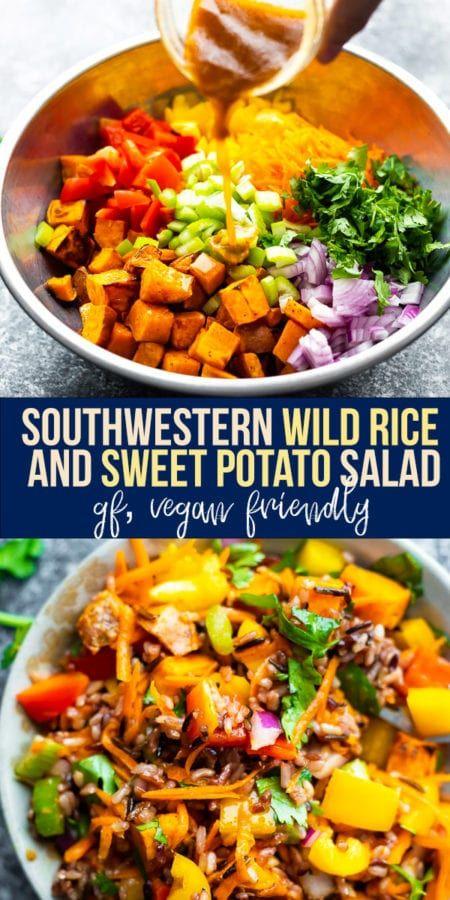Southwestern Wild Rice and Sweet Potato Salad   Sweet Peas ...