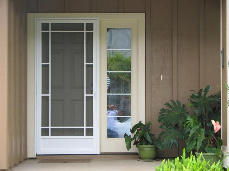 34 best Single Screen Door Entry images on Pinterest | Aluminium ...