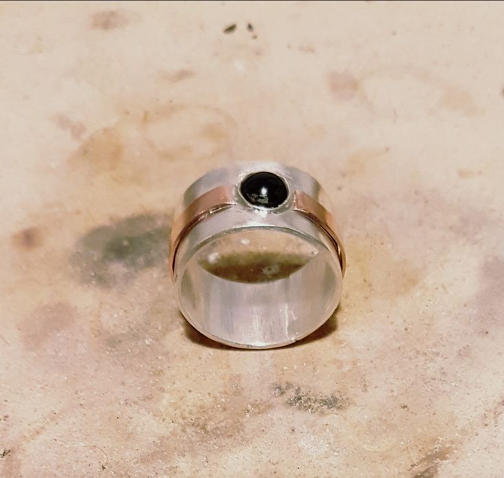 #silver #copper #onyx #handmade rixt-sieraden.nl