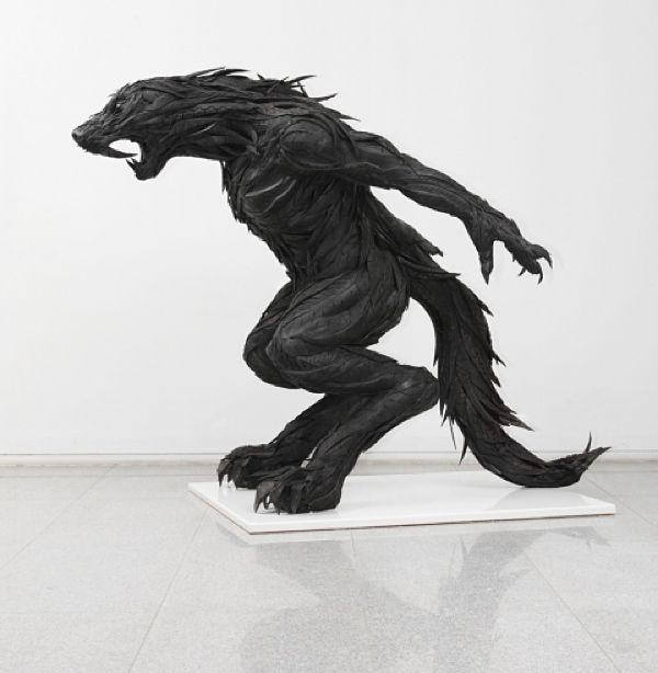 Incredible Sculptures Made From Recycled Tires. | Marvelous