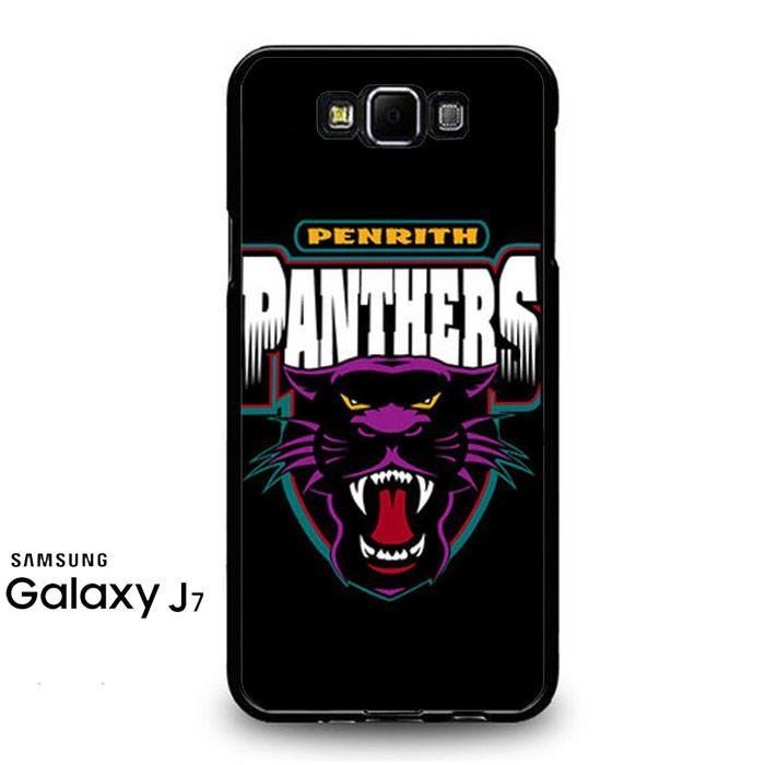 Penrith Panthers Black Samsung Galaxy J7 Prime Case