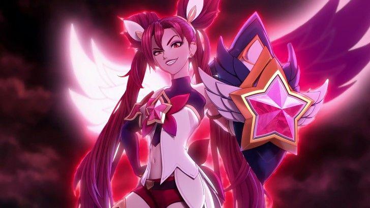 Star Guardian Jinx League of Legends Wallpaper