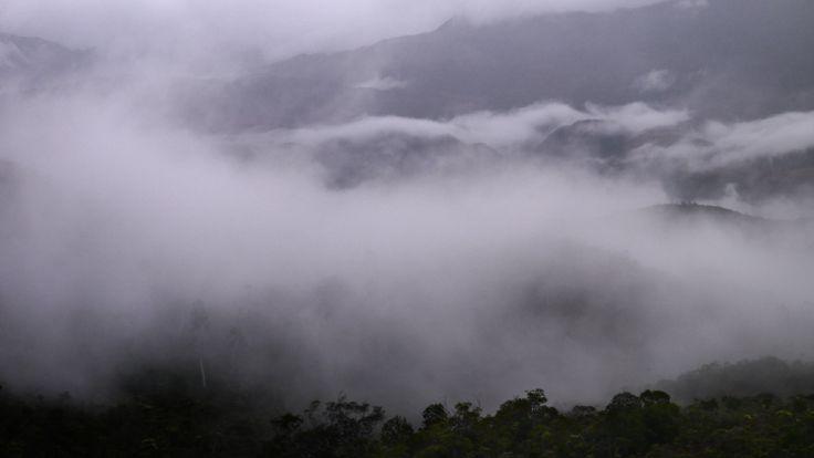nuage de brume à Poro