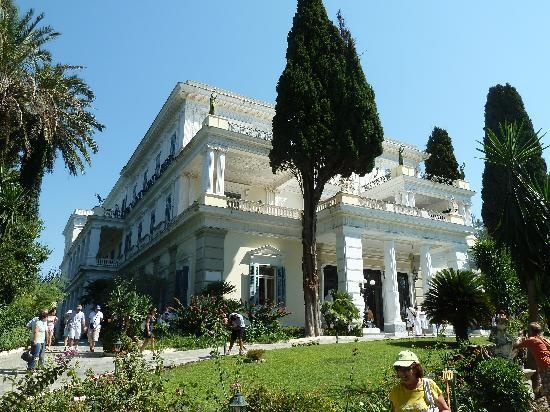 Sissi's Palace (Achilleon): Eingang
