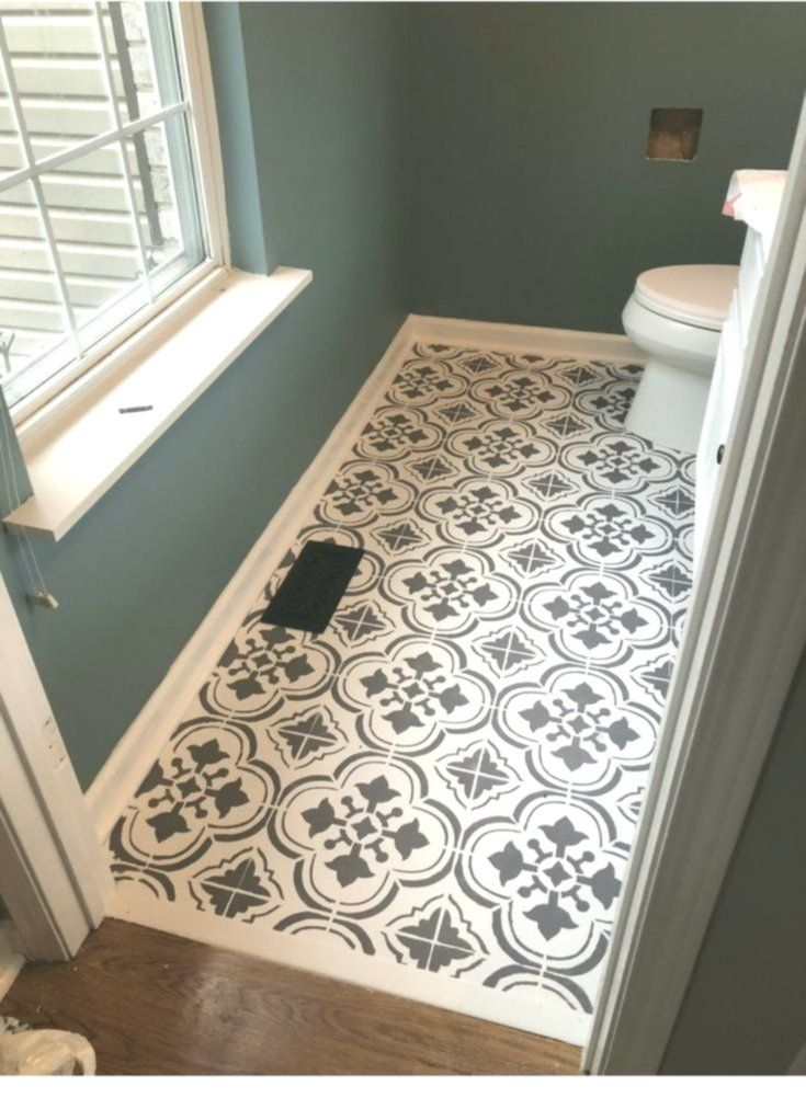 39 Great Bathroom Flooring Ideas Diy Inspiration 2018 In 2020 Small Half Bathrooms Flooring Small Decor