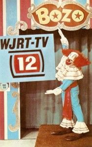 Bozo the Clown on WJRT-TV in Detroit, Michigan, portrayed by Frank Cady http://bozo-the-clown.info/