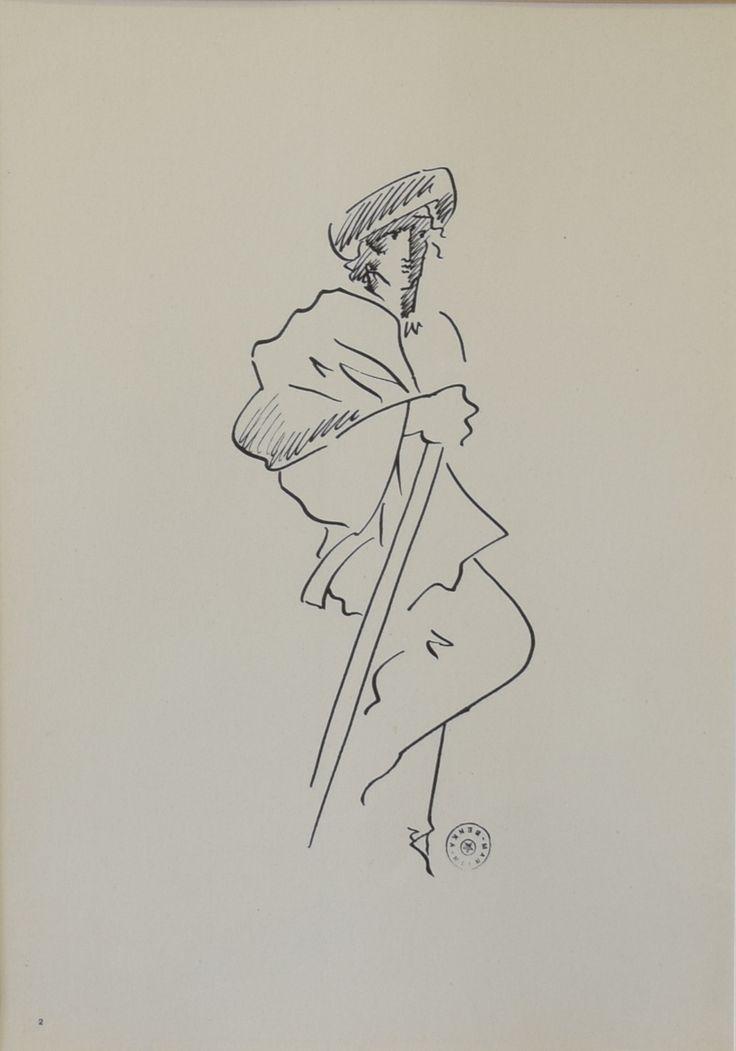 PASTIER  BENKA MARTIN  Obdobie: nedatované  Materiál: papier  Technika: litografia  Značenie: značené: pečiatka s umelcovým menom vpravo dole     #art #auction #benka #graphic #museum #auctionhouse #diana