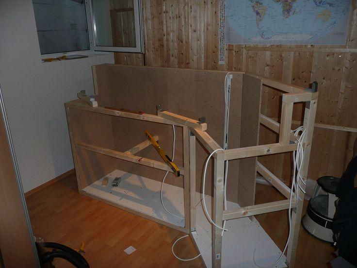 25+ parasta ideaa pinterestissä: küchentheke selber bauen, Wohnzimmer dekoo