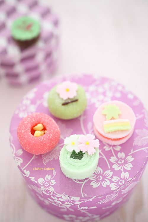 Japanese jelly sweets