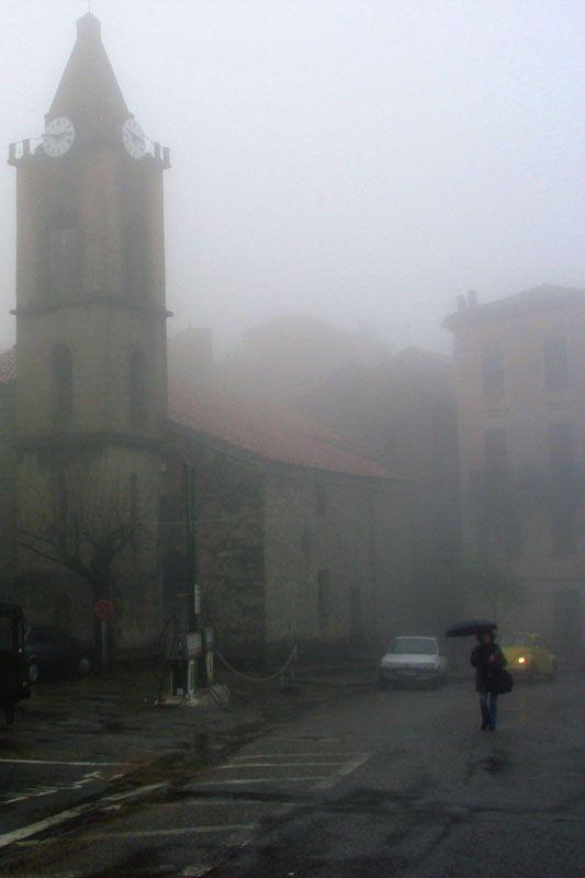 Rainy day, Sainte-Lucie-de-Tallano, France