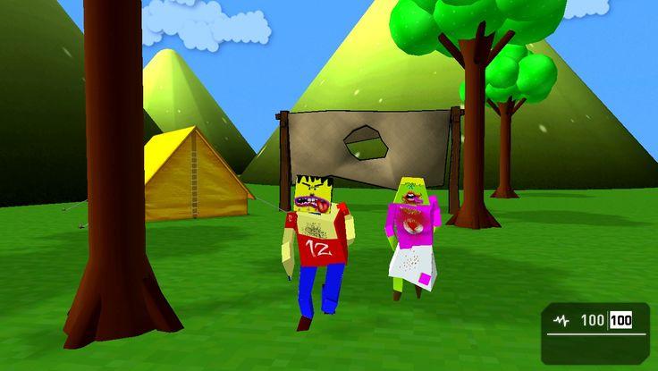 modelos 3d caricatura para Game Guru Engine