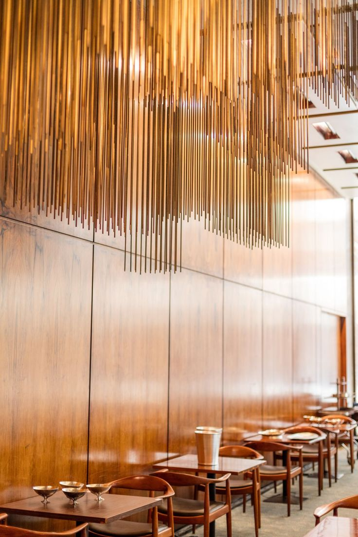 A Final Look Inside the Iconic Four Seasons Restaurant - Curbed NY