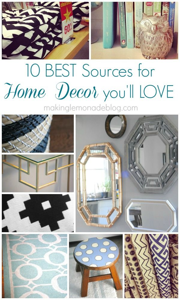 10 Sources for Quick and Inexpensive Home Decor