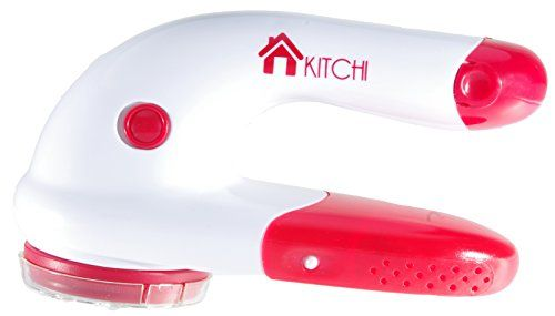 Kitchi Battery Operated Fabric Shaver - Removes Fabric Pills, Lint and Fuzz from Sweaters, Blankets, Yoga Pants and More Kitchi Products http://www.amazon.com/dp/B00KCWNXO6/ref=cm_sw_r_pi_dp_nV7.tb17066E8