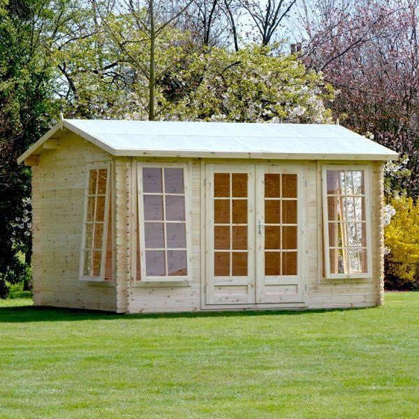 89 best Log Cabins images on Pinterest Log cabins Sheds and Co uk