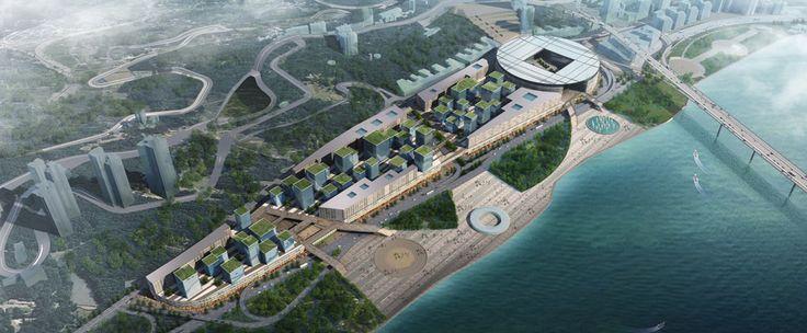 High Speed Rail Station/urban development - Chongqing, China - HPP architects