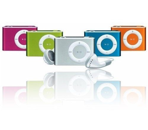 MP3 Player Sem Visor Shuffle Clip FM Cabo USB