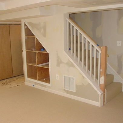 Basement photos stairs design pictures remodel decor and ideas basement ideas pinterest - Basement stair ideas pinterest ...