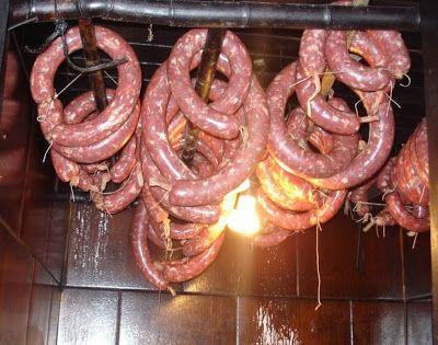 Receita Fabricando SALAME CASEIRO de Culinária-Receitas - Mauro Rebelo