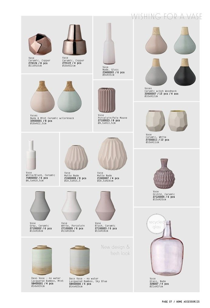 Spring Interior Trends 2015 From Bloomingville (via Bloglovin.com ) I love Bloomingville- they use such lovely colours..