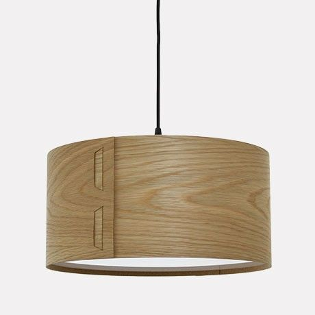 Oak Tab Lampshade by John Green Design | MONOQI