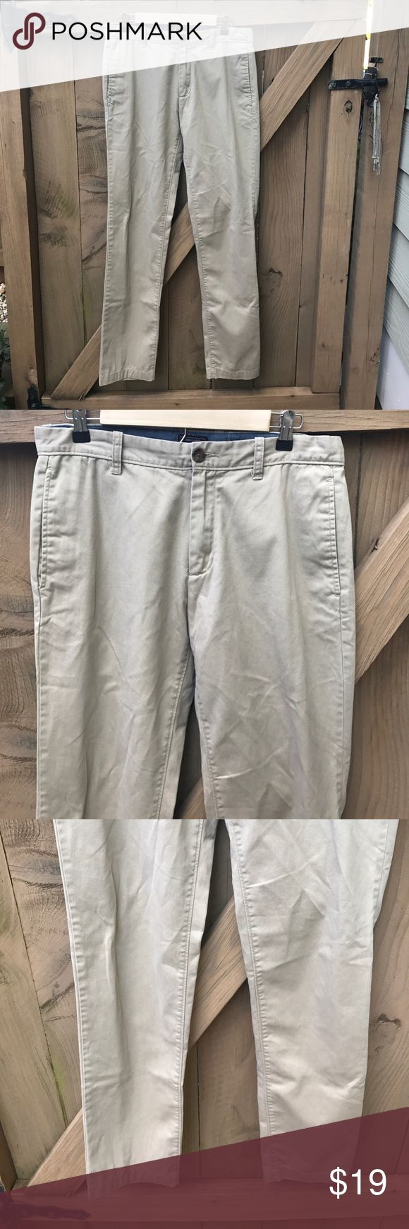 Size 32/34 Gap slim fit khaki pants Size 32/34 Gap slim fit khaki pants: BIN 1 GAP Pants Chinos & Khakis