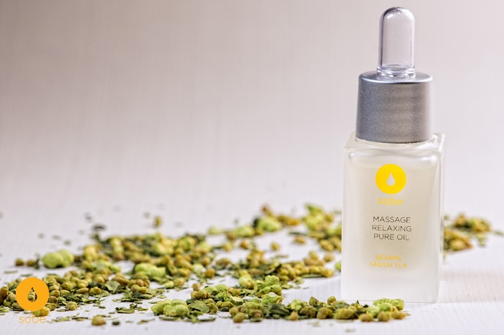 Sesame seeds and Green Tea extracts Massage Oil + Matcha Genmaicha Japanese Green Tea, only $48)